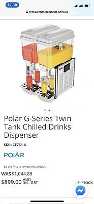 Polar G-series Twin Tank Chilled Drink dispenser