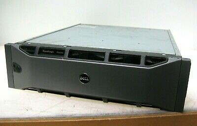 Dell EqualLogic PS6000 16 Drive Bay Storage Array w/ 2x Control Module 7, 2x PSU