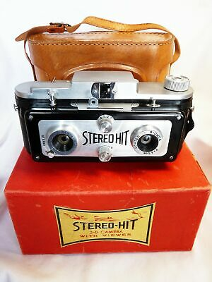 TOUGODO HIT STEREO w CASE BOX VIEWER w SLIDE working mechanisms VINTAGE 5743