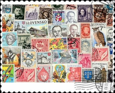 Slovakia : 150 Different Stamps Collection