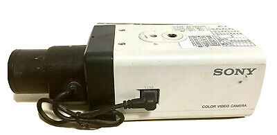 SONY colored video camera model SSC-G213A