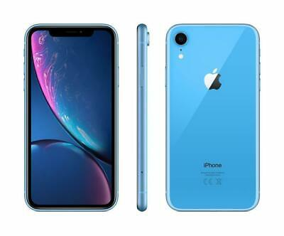 Apple iPhone XR - 64GB - Blau (Ohne Simlock) A2105 (GSM) NEU OVP