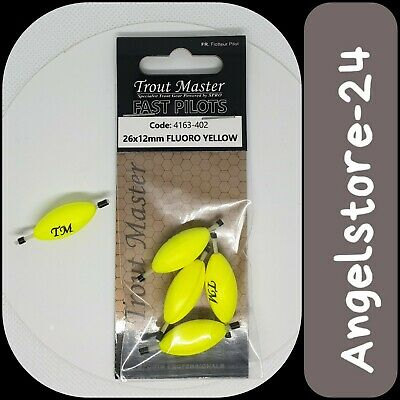 Spro TM Trout Master Oval Fast Pilot 12mm 10mm 16mm Gelb Weiß Rot Pose NEW OVP