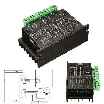 1/2/5/10pc TB6600 1 Axis 4A 9~40V Micro-Step CNC Stepper Motor Driver Controller