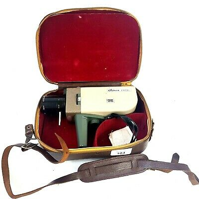 Chinon Facel 8mm Film Movie Camera Made in Japan 51505 in Case
