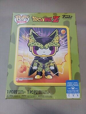 Funko Pop! Dragon Ball Z Perfect Cell Box Sealed Gamestop Exclusve L Tee
