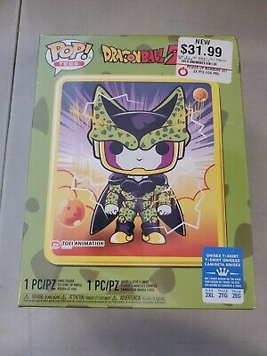 Funko Pop! Dragon Ball Z Perfect Cell Box Sealed Gamestop Exclusve 2Xl Tee