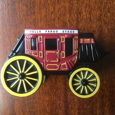 Wells Fargo Collectable Stagecoach Metal Coin Bank - Lot Of 1 OR 2, Your Choice!