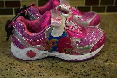 Shimmer and Shine Toddler Girls' Nickelodeon Light-up Sneakers Size - 10