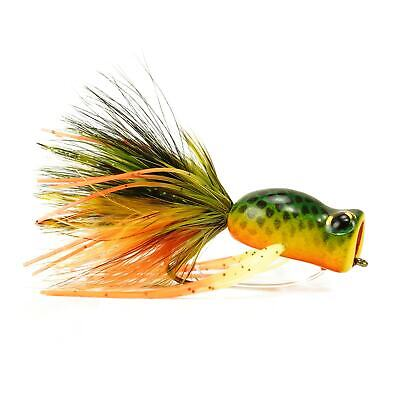 CF Whistler Bass//Saltwater Fly by Rainy/'s #1//0 Orange//Black NEW FREE SHIPPING