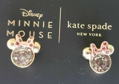 Kate Spade Minnie Mouse Earrings:nwt Minnie Mouse Stone Studs (New!)