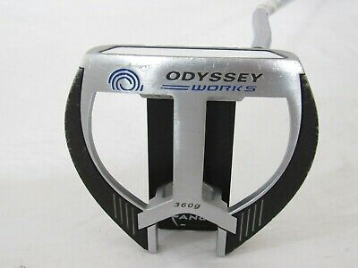 """Used RH Odyssey Works Marxman Fang Versa 35"""" Putter With Headcover"""