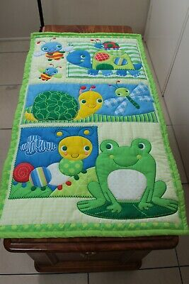 Pond Magic Quilted Wall Hanging