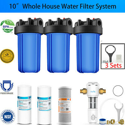 15-Stage Shower Head Water Filter Chlorine Removes with 2 Replacement Cartridges