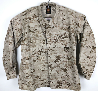 USMC Desert MARPAT Camouflage MCCUU Blouse Digital Camo  M / R Medium Regular