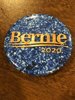 Bernie Sanders 2020 Presidential Official Campaign Button Pin