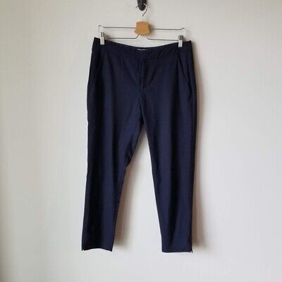 Everlane Navy Blue Wool Blend Pants Trousers Size 6
