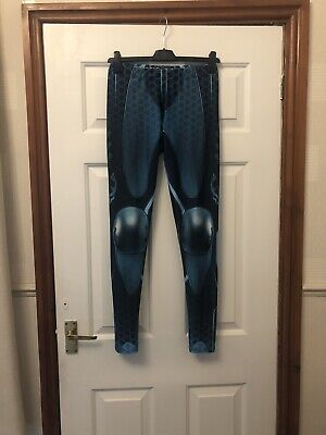 Cyberdog Subsonic Leggings Turquoise Blue Tron Cyber S