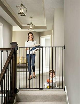 Regalo 2 in 1 Extra Tall Easy Swing Stairway and Hallway Walk Through Baby
