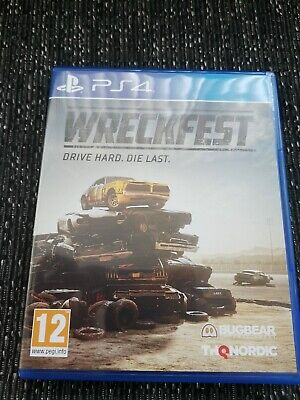 Wreckfest PS4 SUPER FAST FREE POST!