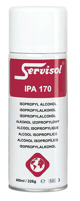 Servisol IPA 170 Isopropyl Moisture Removal Electronic Cleaning Solvent Alcohol