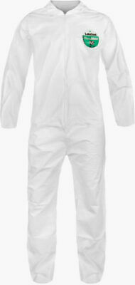 """CASE OF 25"" White Coveralls MICROMAX CTL412 LAKELAND   SUITS  ALL SIZES NEW"