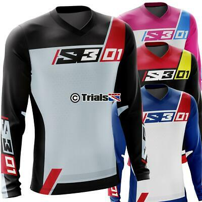 New S3 01 Trials Riding Shirt - 4 New Designs/Colours for 2020