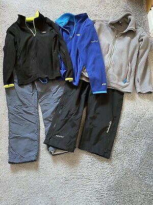 Bundle Of Trespass Trousers And Fleeces Age 7/8 And 5/6