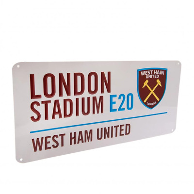 West Ham United FC Street Sign | OFFICIAL