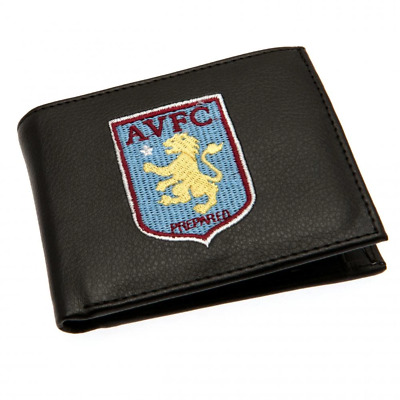 Aston Villa FC Embroidered Wallet | OFFICIAL
