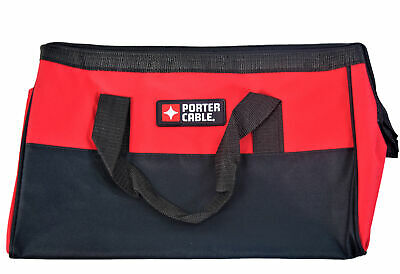 Porter Cable 16 inch Heavy Duty Big Mouthed Power Tool Bag