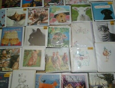 50 Wow Animal Mix Cards, Wholesale Joblot Greeting Cards
