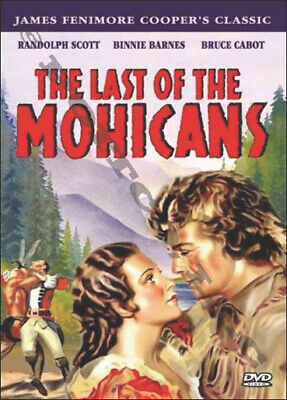 The Last of the Mohicans,1936, DVD, starring Randolph Scott