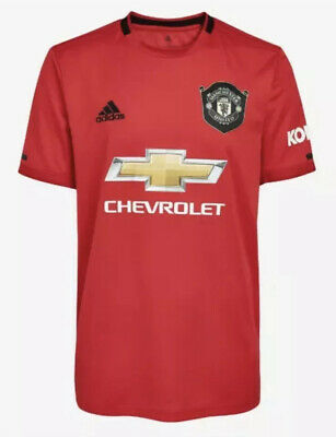 Man Utd Home Shirt 2019/20