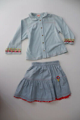 Catimini Outfit Set Skirt & Top Age 3 Years Size 94cm Gc Girls