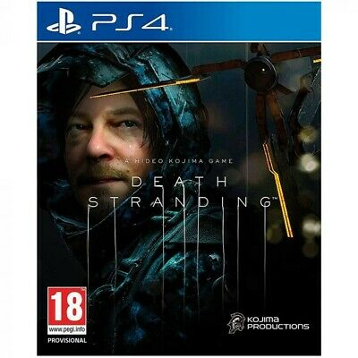 Death Stranding Ps4 Nuovo Sigillato Italiano Playstation 4 Play 4 Kojima Game