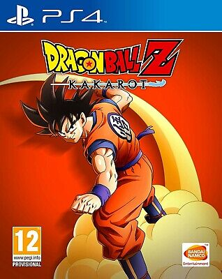 Dragon Ball Z: Kakarot Ps4 Videogioco Cover Italiana Gioco Play Station 4 Nuovo
