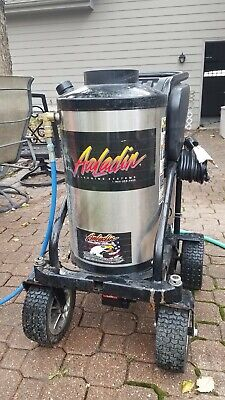 Aaladin 13-216 SS 1600psi 2gpm Hot Water Pressure Washer