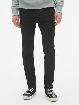 GAP Super Skinny Jeans GapFlex 30x30 NWT New Black Gap Flex Max $69