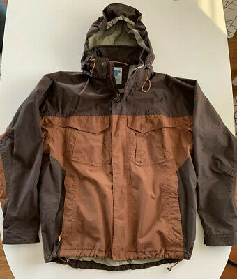 Eastern Mountain Sports Mens Large Brown Winter Coat Jacket VINTAGE GUC