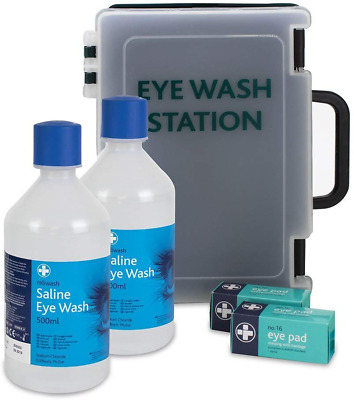 Reliance Medical Deluxe Eye Wash Station Complete
