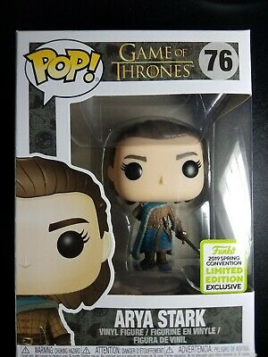 Funko Pop Game of Thrones Arya Stark ECCC 2019 Boxlunch Exclusive #76