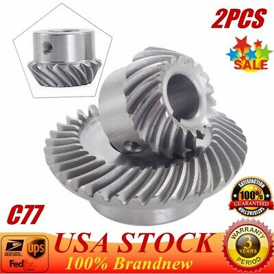 2 PC Milling Machine Lifting Gear C96 Helical Gear For Bridgeport OME Part