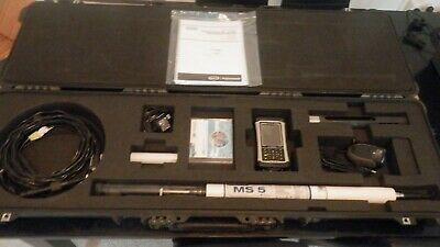 HACH Hydrolab MS5 multiparameter sonde & Trimble Nomad controller pH Cond TURB