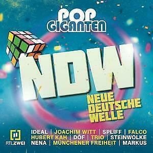 Pop Giganten NDW Various Audio-CD 3 Audio-CDs 2020