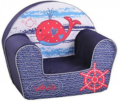 Knorrtoys 68315 knoortoys Child Chair-Whale, Multi Color