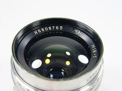 Wide angle Mir-1 f/2.8 37 Grand Prix Brussels #6808765 Adapt for Nikon. Infinity