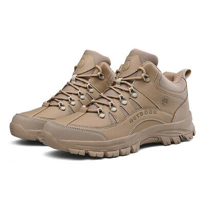 Men's Hiking Boots Desert Shoes Military Tactical Combat Army Boots Outdoor