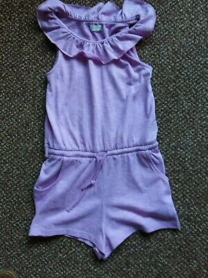 Bnwot - Next - Girls Lilac Coloured Play/Sun Suit - 5/6 Years