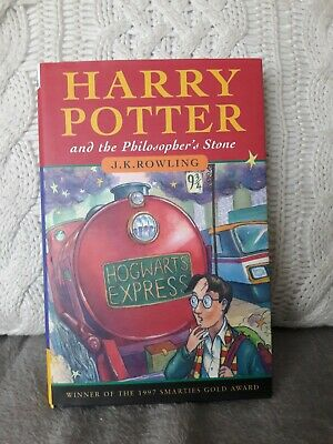 Harry Potter and the Philosopher's Stone Hardback 1st Edition 6th Print Joanne